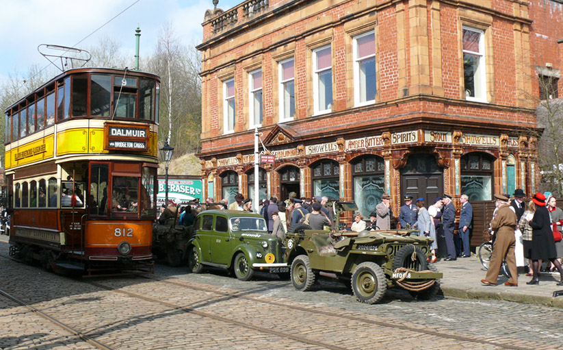 Take a step back in time for the WWII Home Front event at Crich