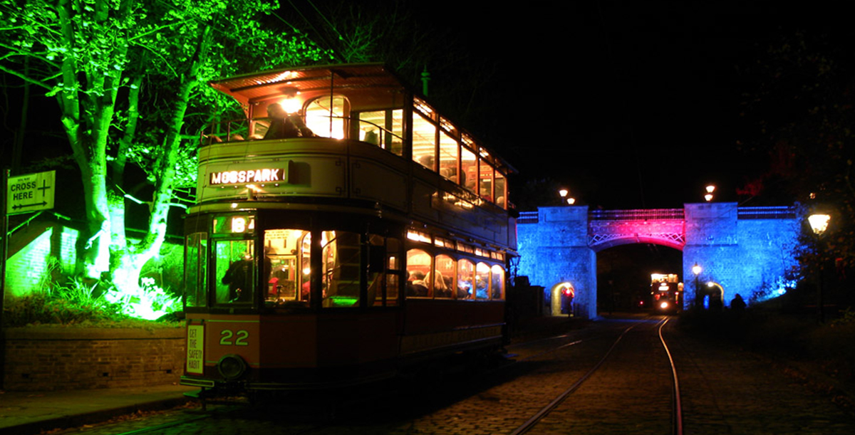 Starlight Spectacular at Crich Tramway Village
