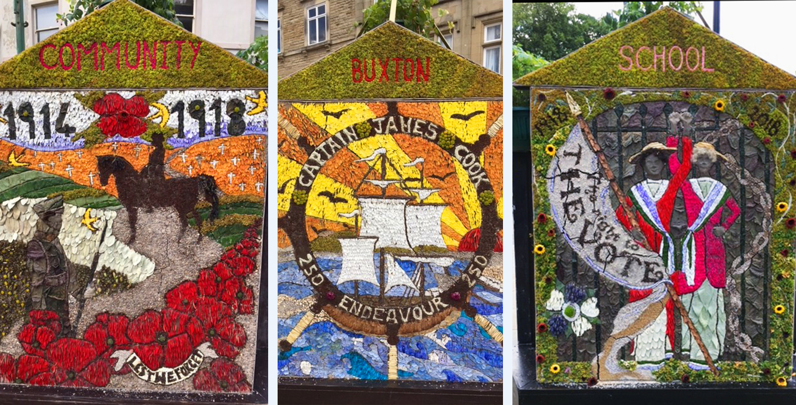 Well Dressings in Buxton