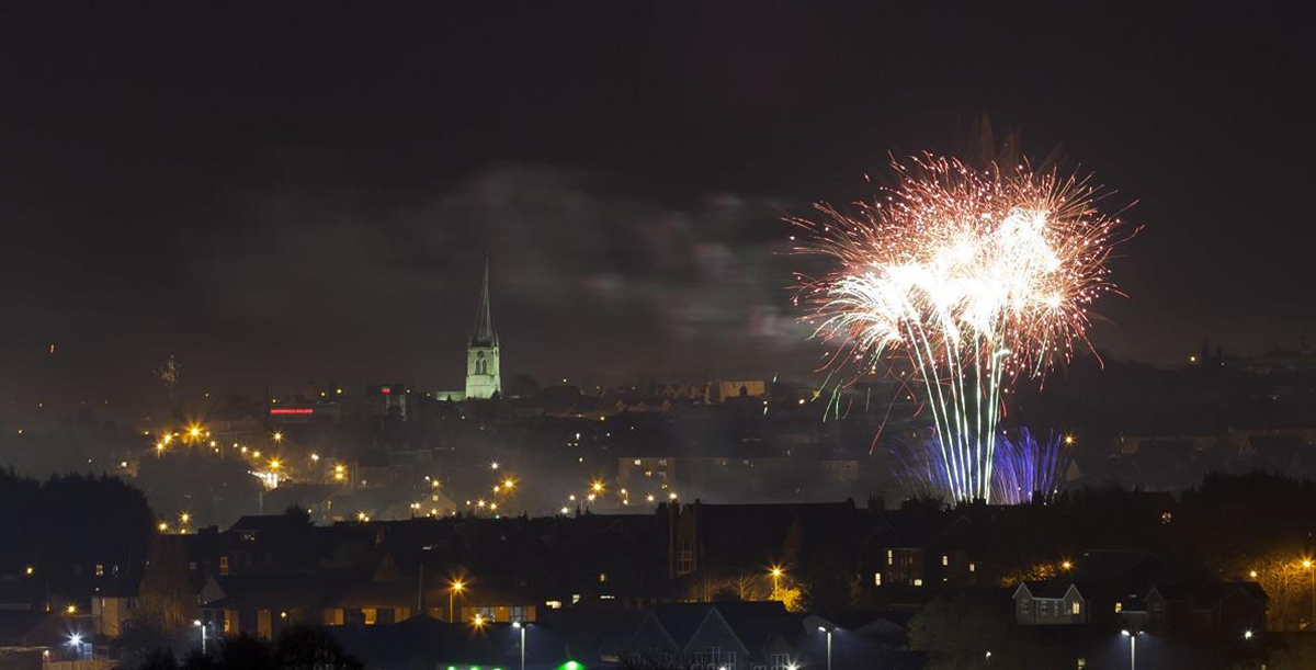 Bonfire night events and firework displays in derbyshire and the peak district
