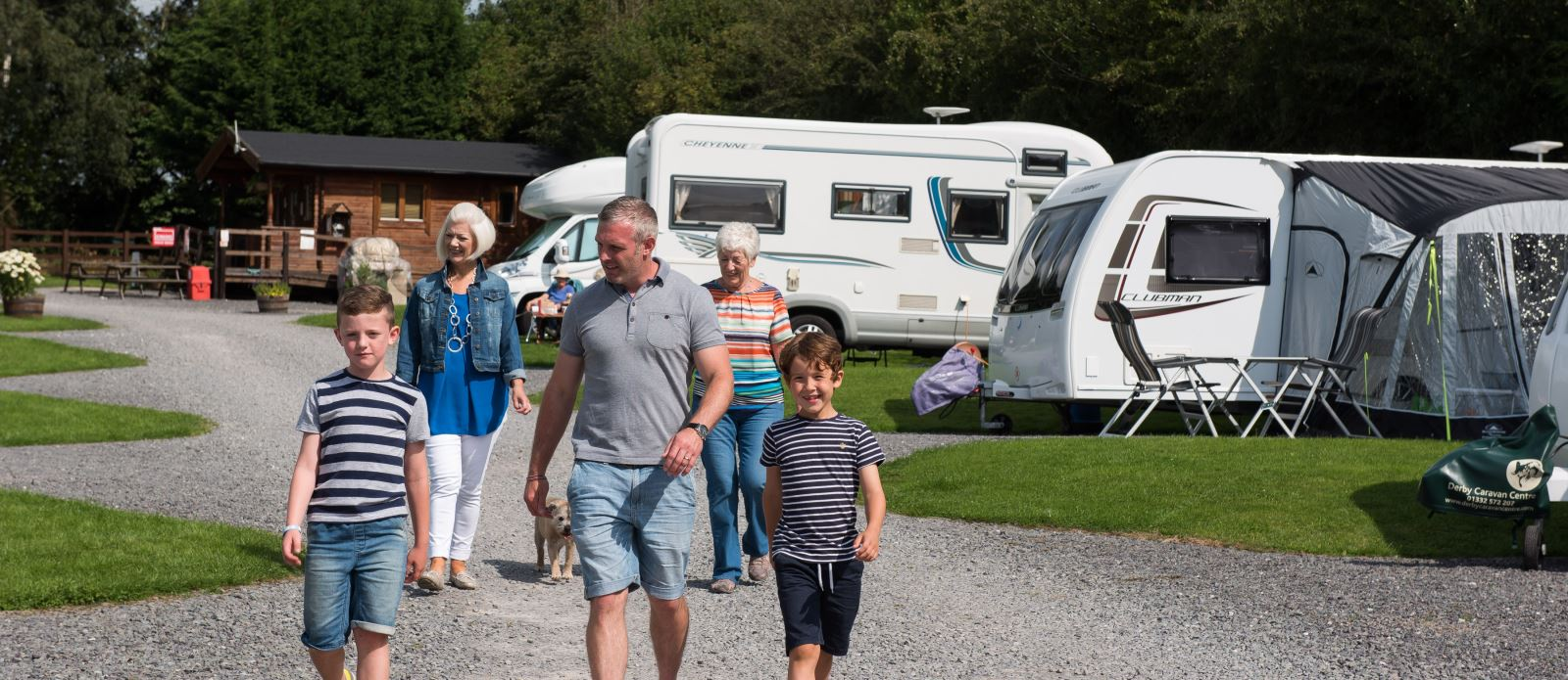 The Camping and Caravanning Club's Ashbourne site