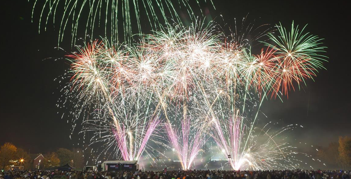 Chesterfield Bonfire Night Fireworks Display