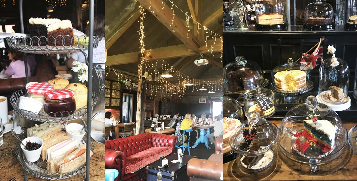 H And F Vintage Tea Rooms Chesterfield
