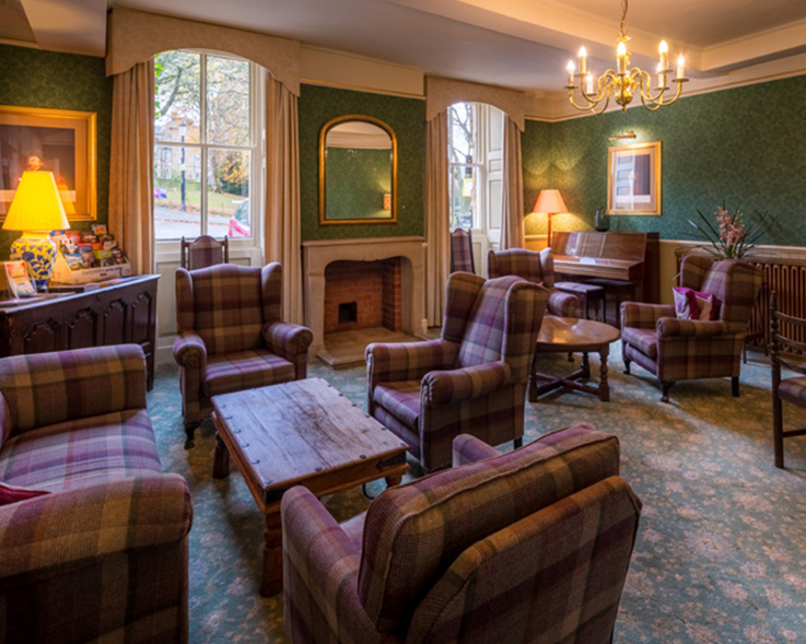 Old Hall Hotel sitting room