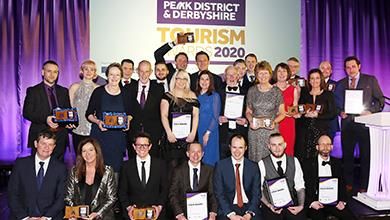Winners revealed at Peak District & Derbyshire Tourism Awards 2020