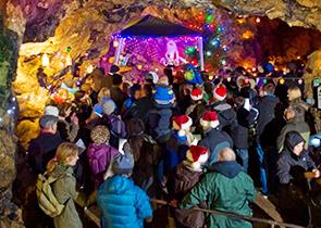 Carols by Candlelight at Treak Cliff Cavern