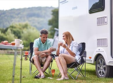 Join the Camping and Caravanning Club