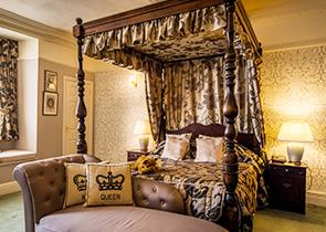 Win a stay in the Mary Bower Suite at the Old Hall Hotel, Buxton
