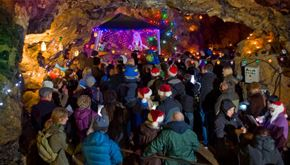 Thumbnail for Carols by Candlelight in Treak Cliff Cavern