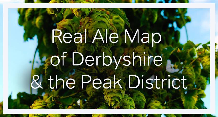 Real Ale Map of Derbyshire & the Peak District