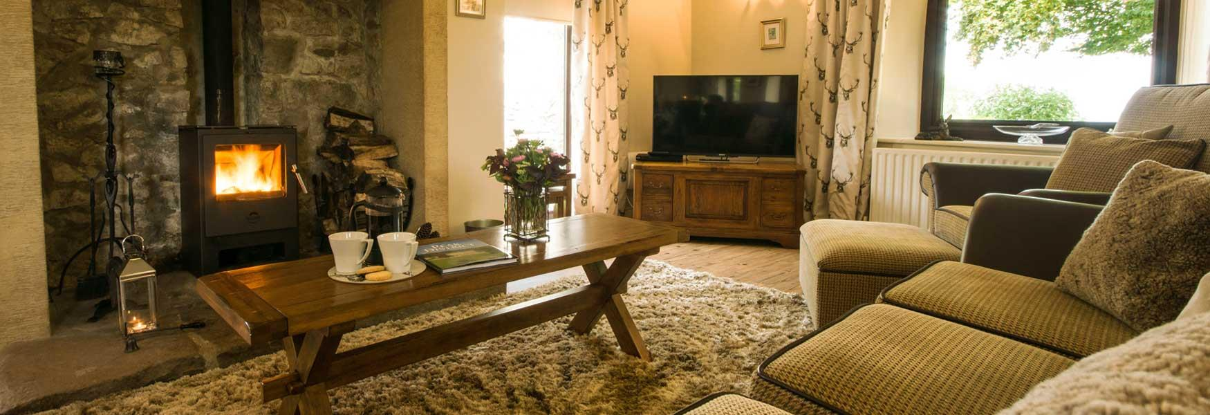Get cosy in a Peak District Cottage