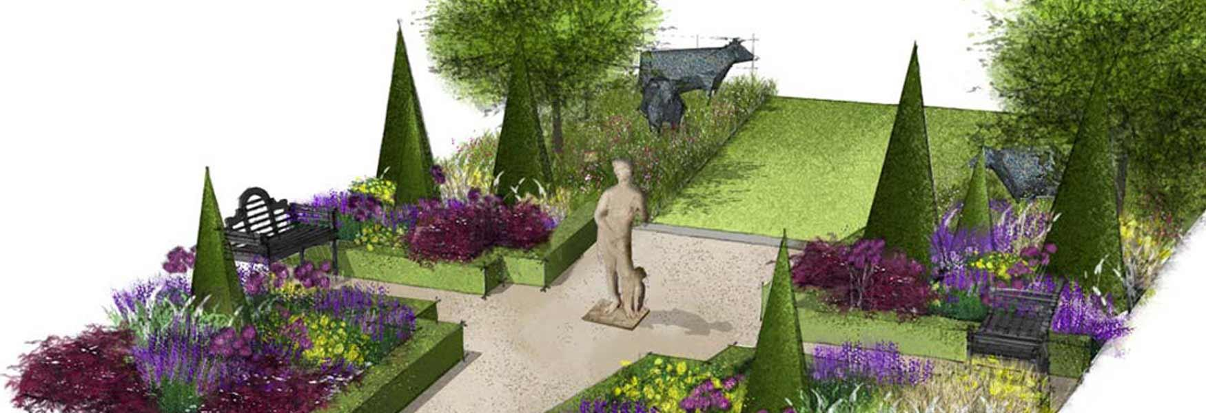 Experience Peak District & Derbyshire Show Garden at RHS Chatsworth