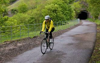 Rails trails and limestone dales cycle route