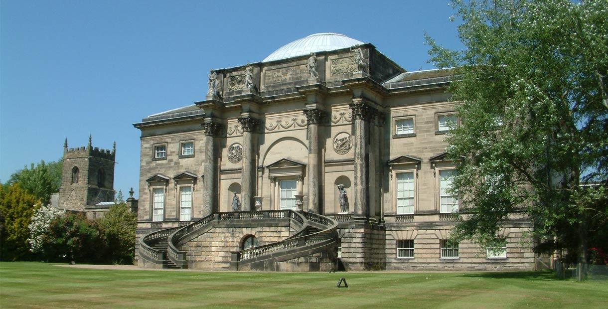 Derby Cycle Routes - Kedleston Hall