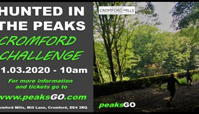 Hunted in the PEaks - Cromford Challenge