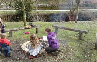 Wildfamilies at Gradbach Mill