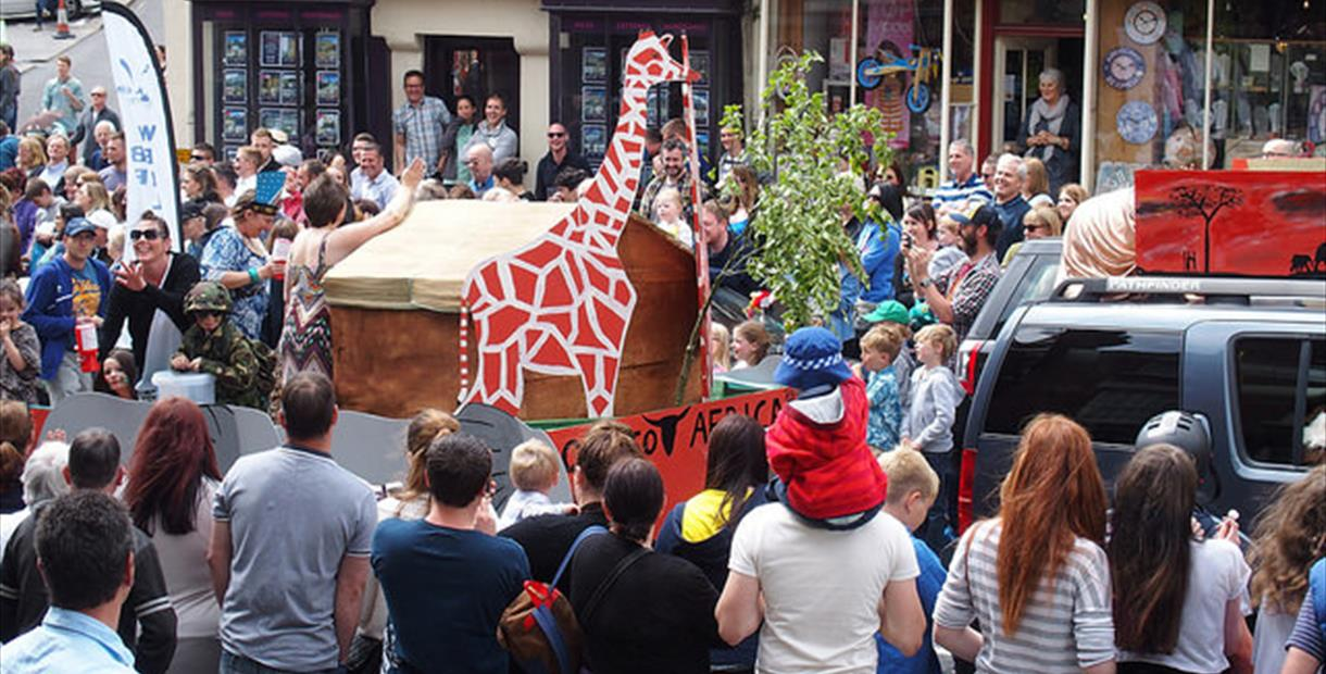 Wirksworth Carnival Parade
