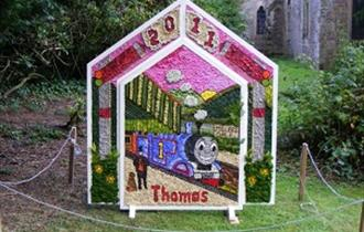 Well Dressing at Wormhill