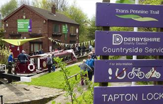 Walk number 37 - Boats and Boots From Tapton Lock