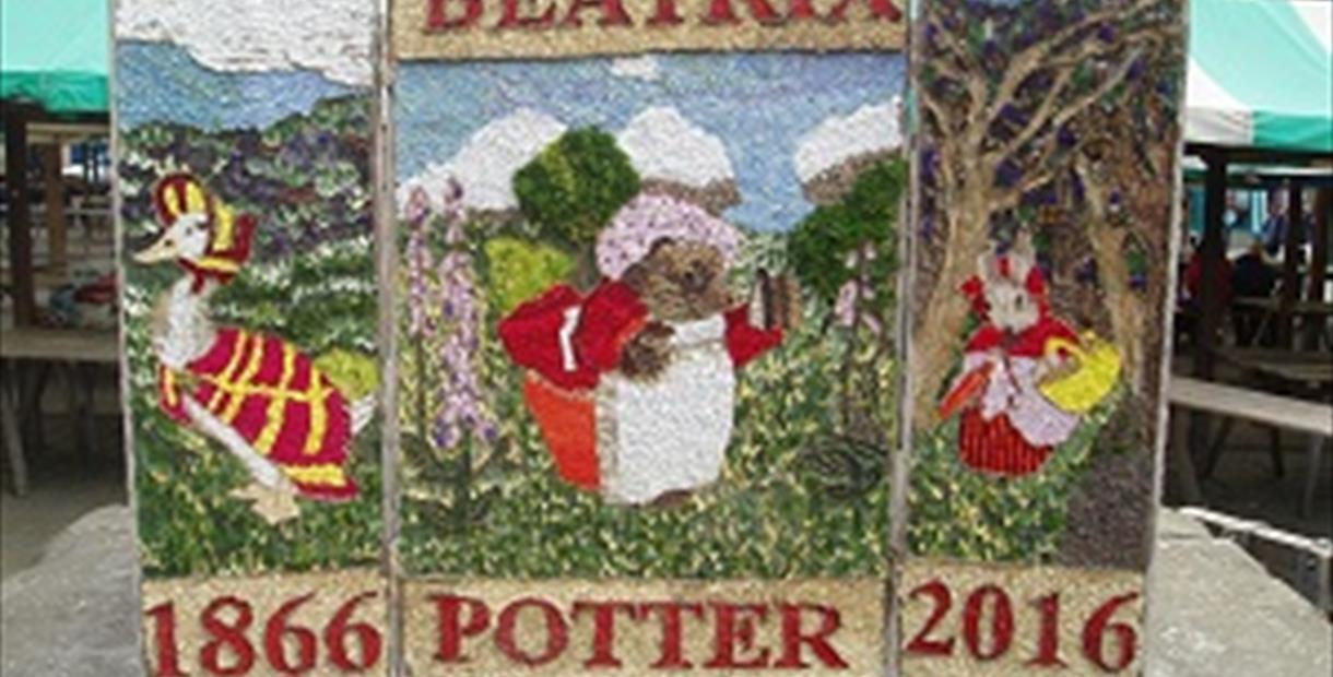 Chesterfield Well Dressing 2016