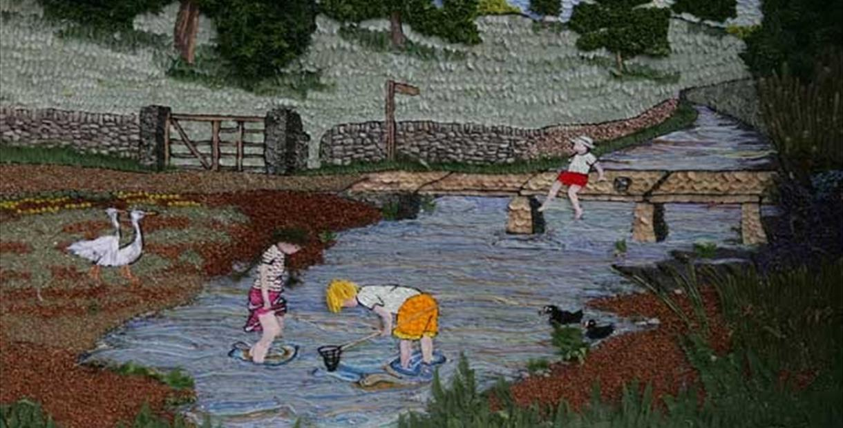 Well Dressing example