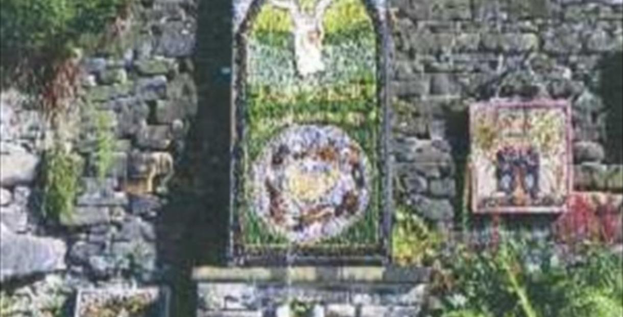 Well Dressing at Charlesworth