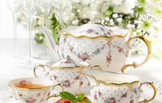 Relax in the 1750 Tea Room and Coffee Shop
