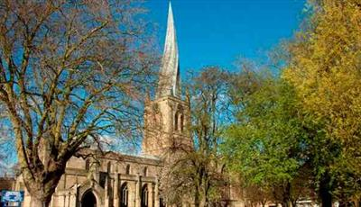 St Mary and All Saints Church, Chesterfield