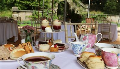 Afternoon tea at the Maze is £50 per person.