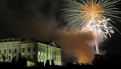 Bonfire and Fireworks at Chatsworth