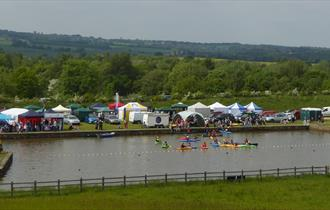 Chesterfield Canal Festival at Staveley Town Basin