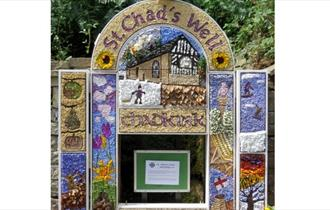 Chadkirk Chapel Well Dressing