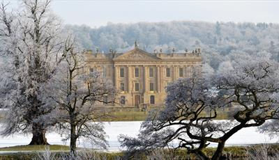 Chatsworth in Snow