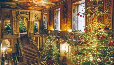 Painted Hall at Christmas