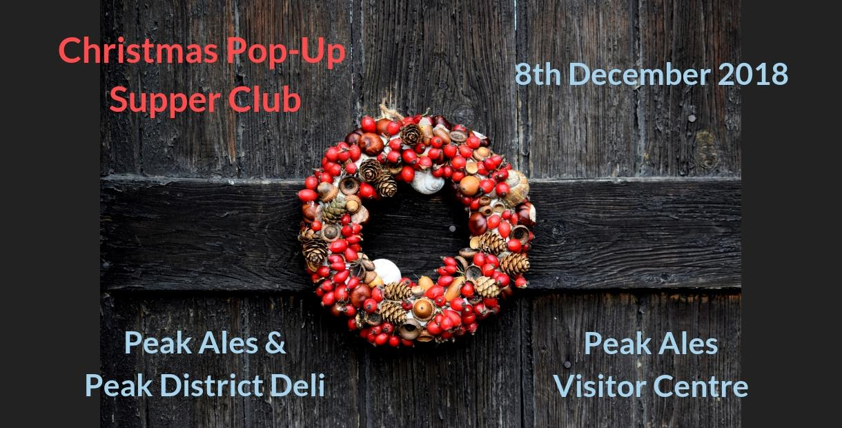 Christmas Pop-Up Supper Club Banner