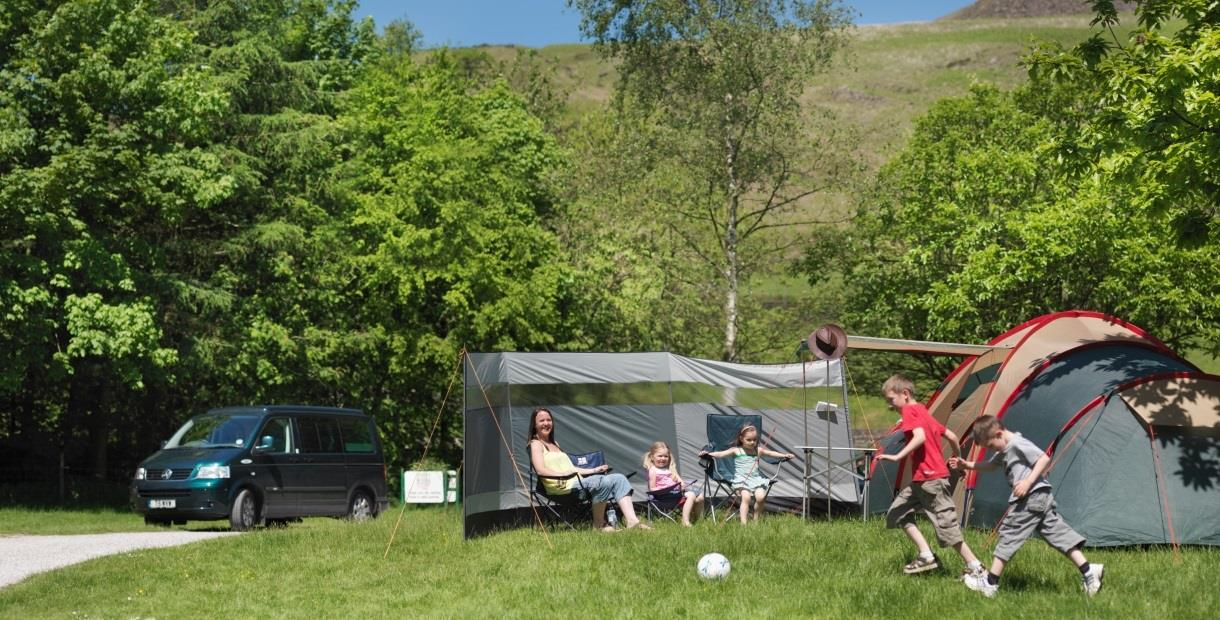 Crowden Camping and Caravanning Club Site