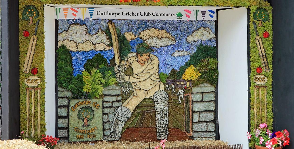 Cutthorpe Well Dressing 2018