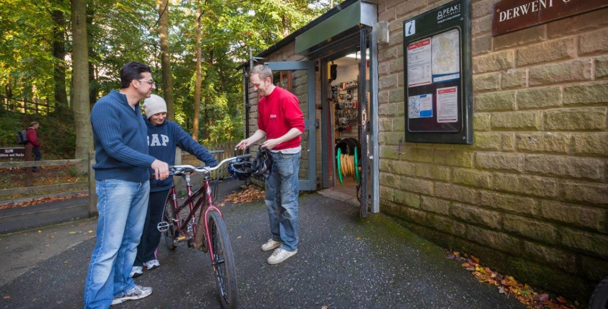 Long established, quality cycle hire centre