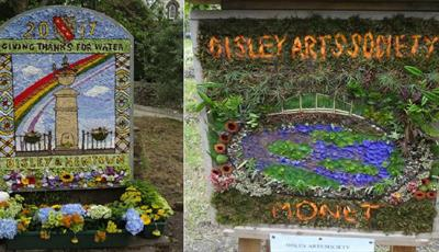 Disley and Newtown Well Dressing