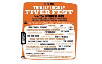 Totally Locally Fiver Fest at Ashbourne