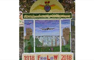 Foolow Well Dressing