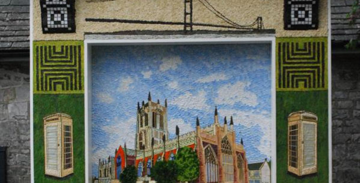 Tideswell's welldressing 2017 of Hull