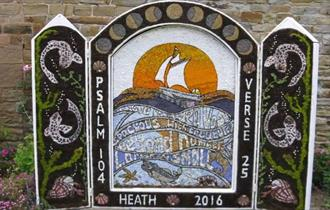 Heath Village Well Dressing