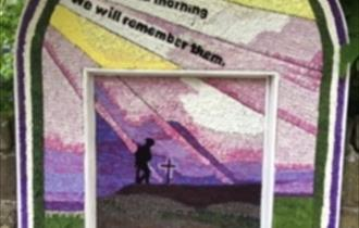 Middleton by Youlgrave well dressing 2018