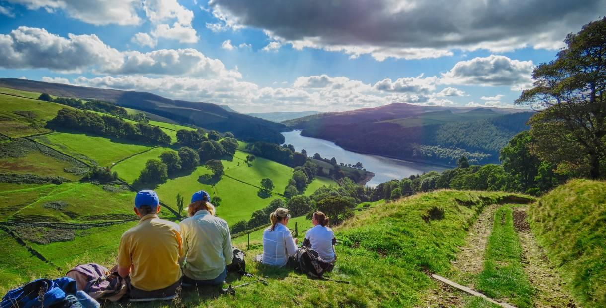 Ladybower Reservoir and Derwent Edge Guided Walk