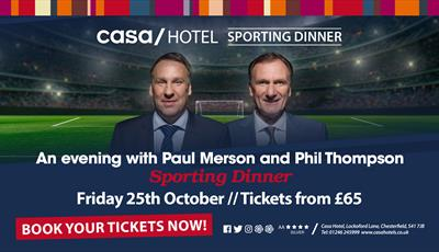 Paul Merson and Phil Thompson Sporting Dinner