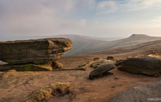 walking on kinder scout