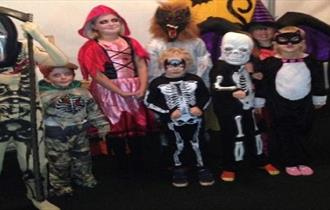 Little Monsters Halloween Party at Matlock Farm Park
