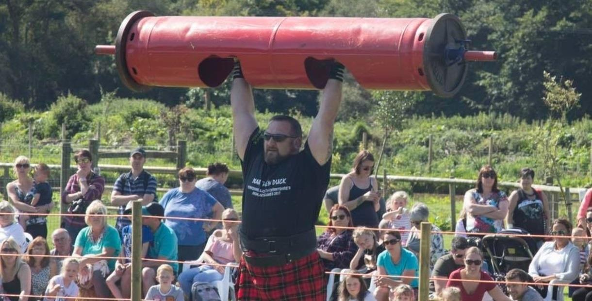 The Peak District Highland Games at Matlock Farm Park