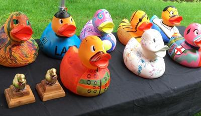 New Mills Duck Race